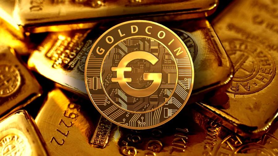 عملة رقمية ذهبية